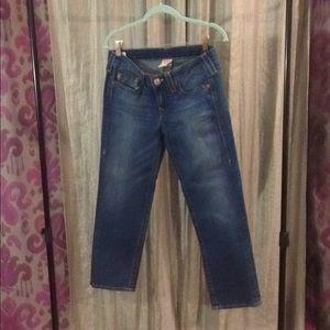 True religion Capri jeans